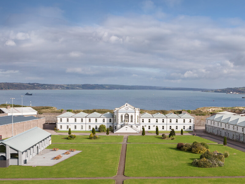 Spike Island Named Europe's Leading Tourist Attraction
