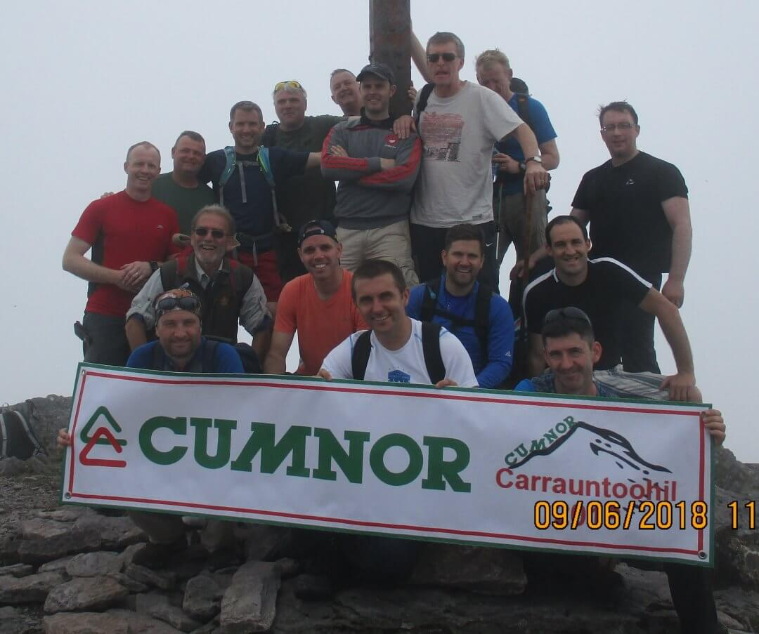 Cumnor Conquer Carrauntoohil for Charity