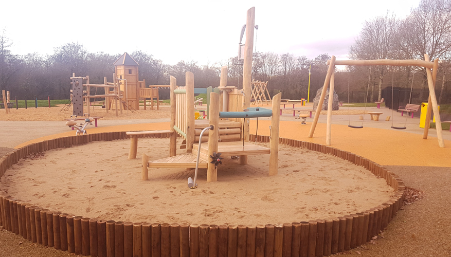 Cumnor Build Playground in Bishopstown, Cork