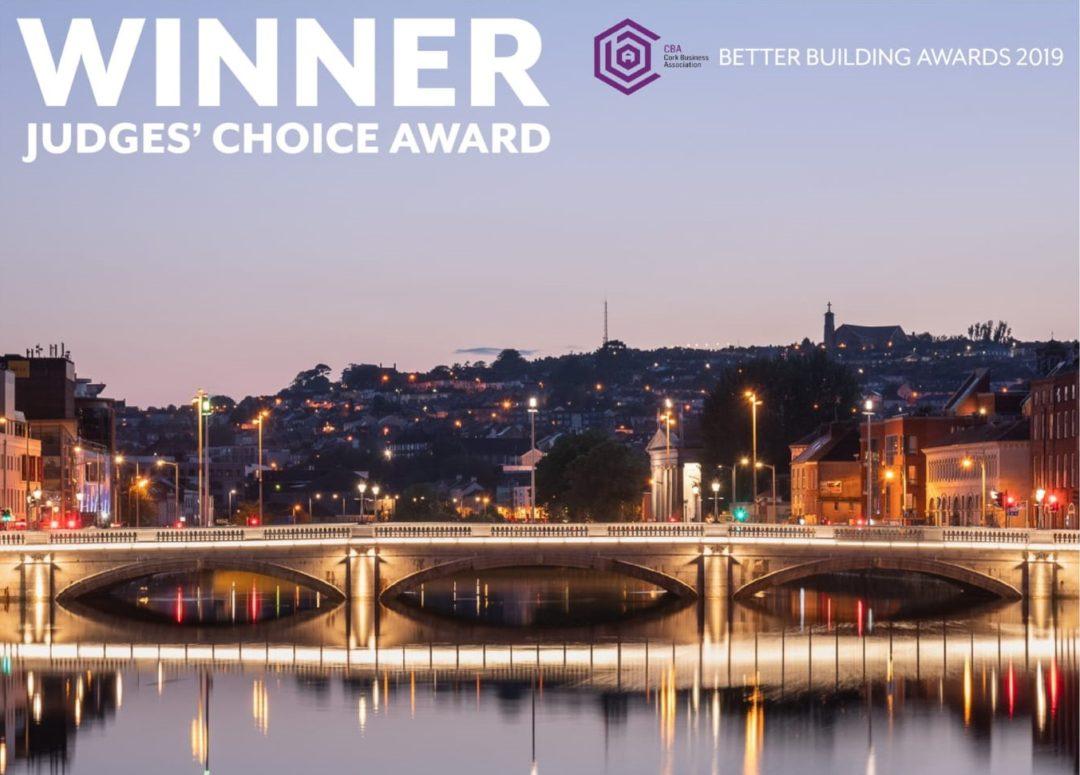 St. Patrick's Bridge Wins Big at Cork Building Awards