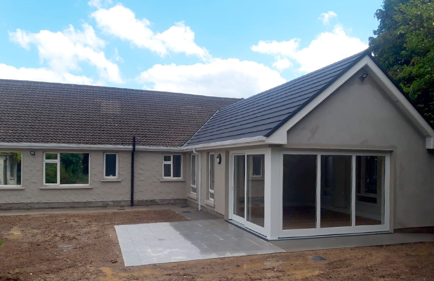 Refurbishment & Extension to a Residential Home in Bray for St. John of Gods Community Services