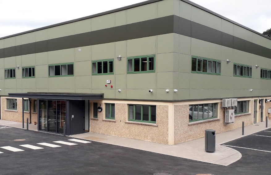 New Garda Station for the OPW in Glanmire Cork